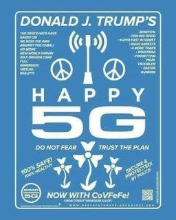 【qアノン】トランプの取り組みで米国の5Gが安全になる!?