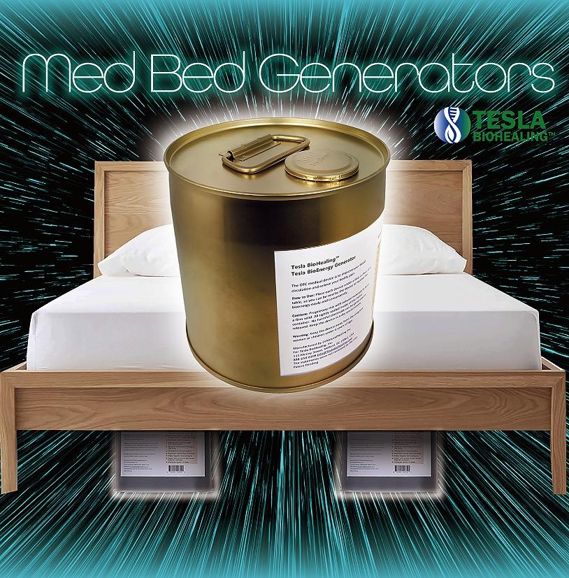 【qアノン】既に発売中!! テスラ社のメドベッド Tesla Med Bed